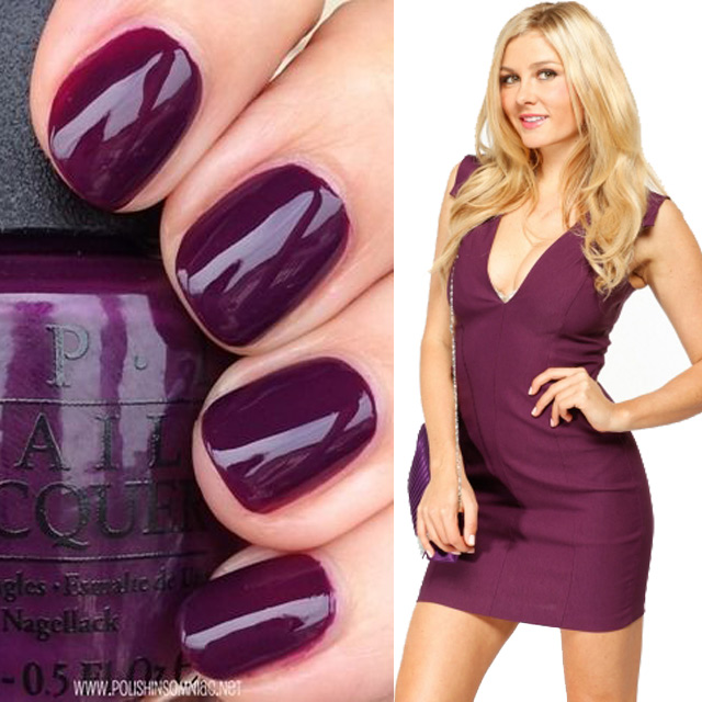 Cici s fall nail colors cicihot for What color matches with purple
