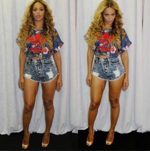 Beyonces-Instagram-Atlanta-On-the-Run-Concert-Tour-Adidas-Floral-Crop-Top