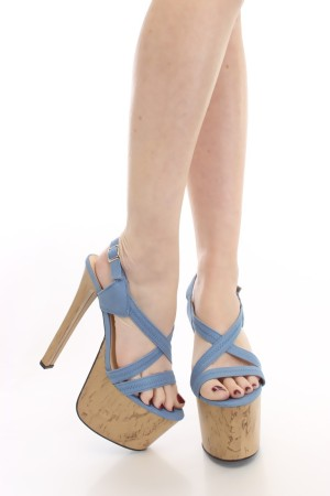 Cork heel